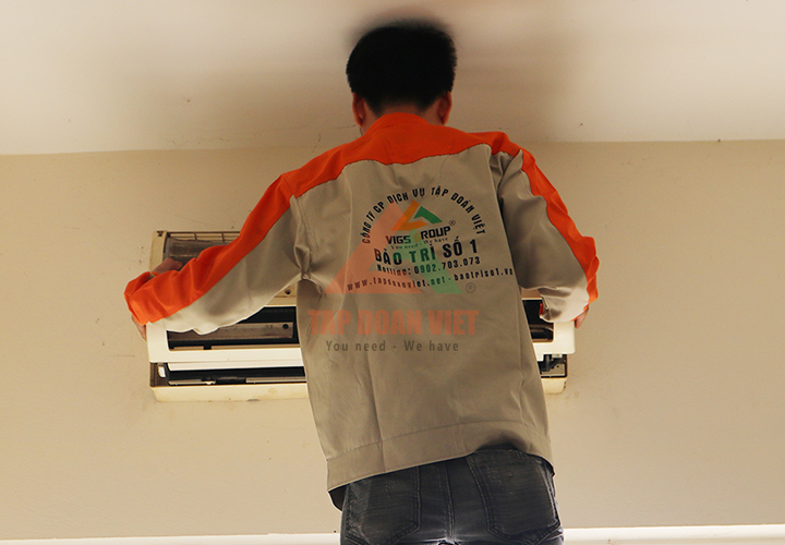 Dịch vụ sửa máy điều hòa LG không mát tại nhà