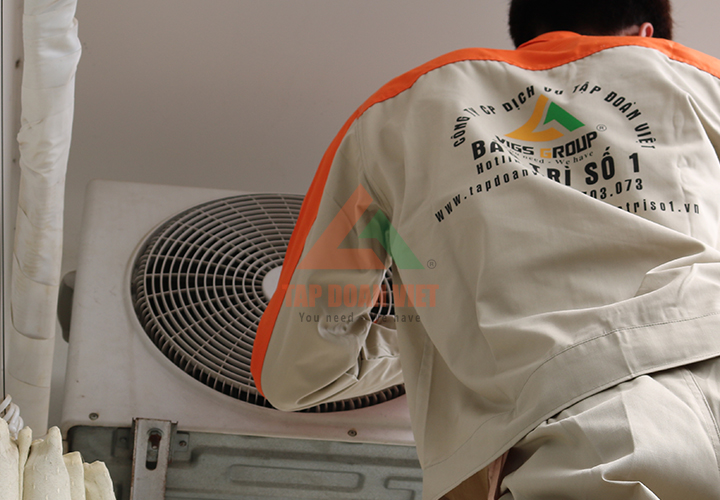 Dịch vụ sửa máy điều hòa tại nhà - Tập Đoàn Việt