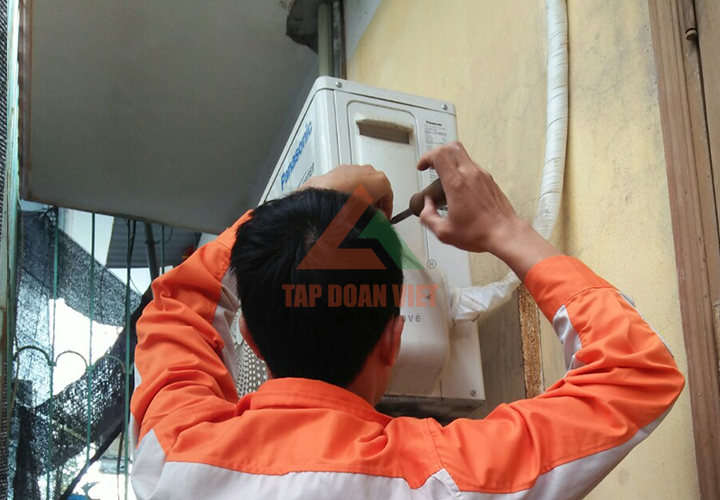 Dịch vụ sửa máy điều hòa Sanyo tại nhà