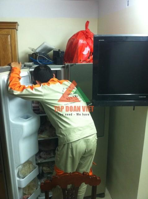 Dịch vụ sửa tủ lạnh Sanyo tại nhà chuyên nghiệp giá rẻ