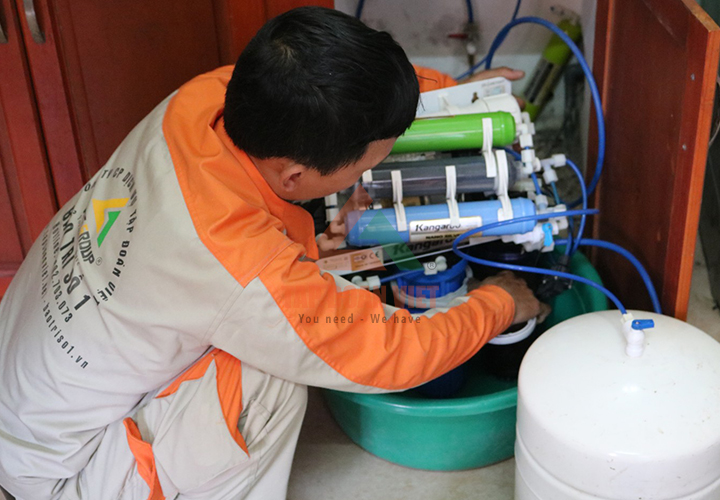 Dịch vụ sửa máy lọc nước tại nhà - Cam kết chất lượng 100%