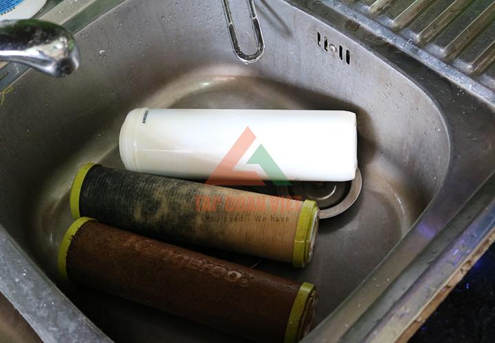 Sửa máy lọc nước ro đơn giản, tại nhà