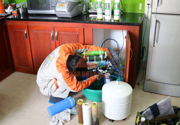 Sửa máy lọc nước tại Bắc Từ Liêm những lỗi đơn giản