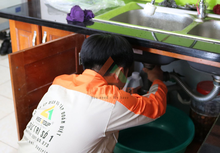 Tập Đoàn Việt cung cấp dịch vụ sửa máy lọc nước tai nhà