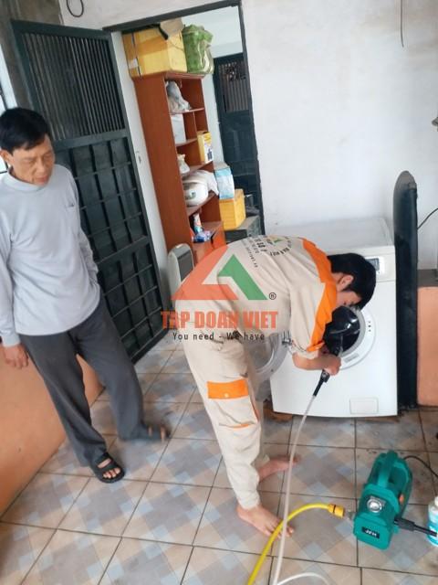 Dịch vụ sửa máy giặt tại nhà uy tín, chất lượng