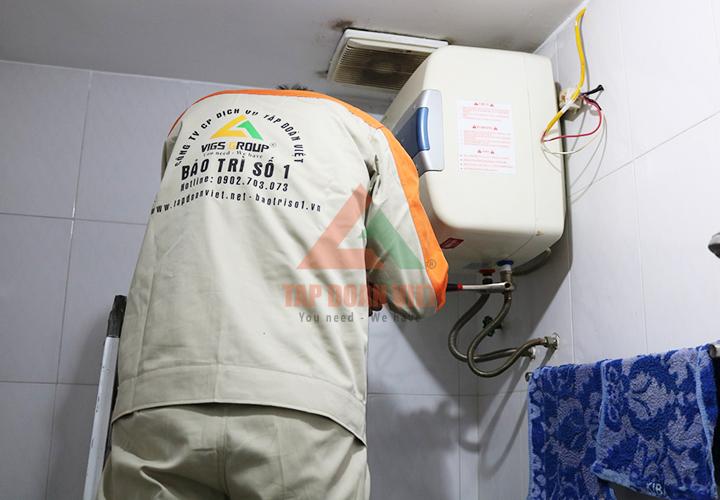 Dịch vụ sửa bình nóng lạnh Sanyo tại nhà uy tín, đáng tin cậy