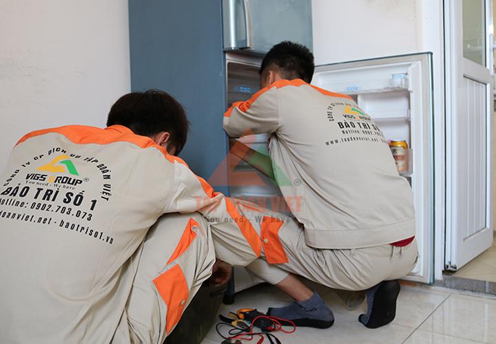 Dịch vụ sửa tủ lạnh tại nhà uy tín, đáng tin cậy