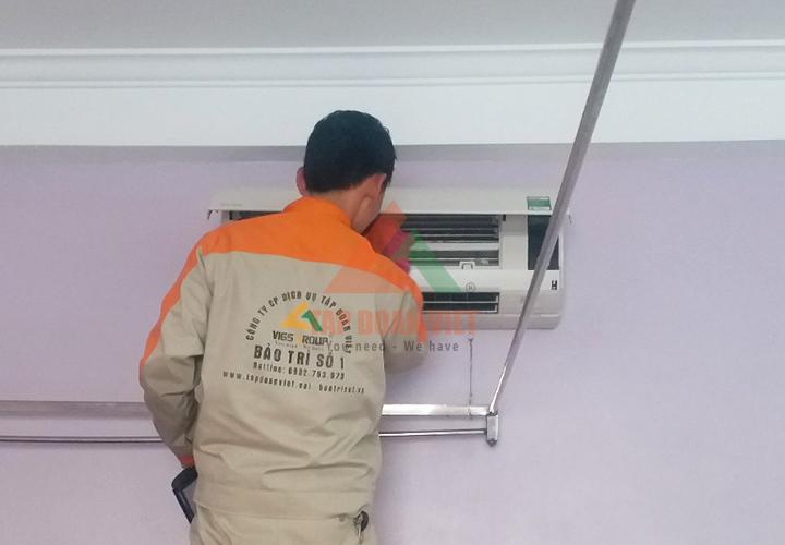 Dịch vụ sửa điều hòa không lạnh tại nhà - cam kết chất lượng