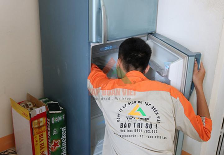 Dịch vụ sửa tủ lạnh tại Hà Nội - Tập Đoàn Việt